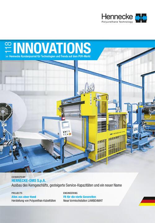 Download - Hennecke Innovations - Aktuelle Ausgabe 118