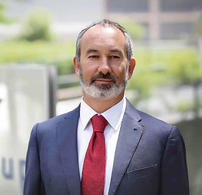 Enrico Lombardini, CEO von HENNECKE-OMS