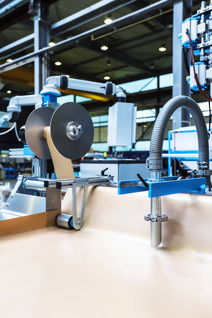 Innovative and compact paper guiding system with MIXGUIDE deflection plate